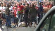 Isplivao novi snimak tuče Delija u Bernu: Ovako je počeo haos, jedan učesnik ležao nepomično (VIDEO)
