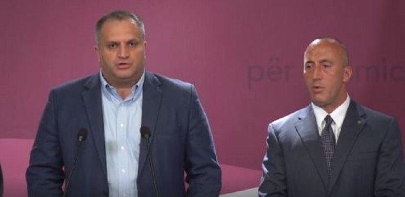 Špend Ahmeti i Ramuš Haradinaj