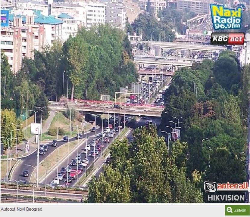 Auto-put, Novi Beograd, gužva