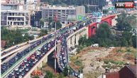 Potpuni haos u Beogradu: Na auto-putu 3 sudara, na Pančevačkom 2 lančana, kritično i na Gazeli
