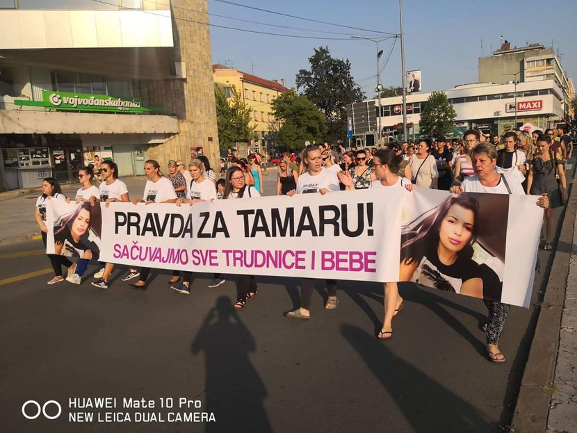 Protest Pravda za Tamaru Milić
