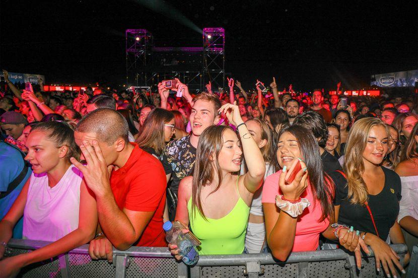 Music week festival, Ušće, publika