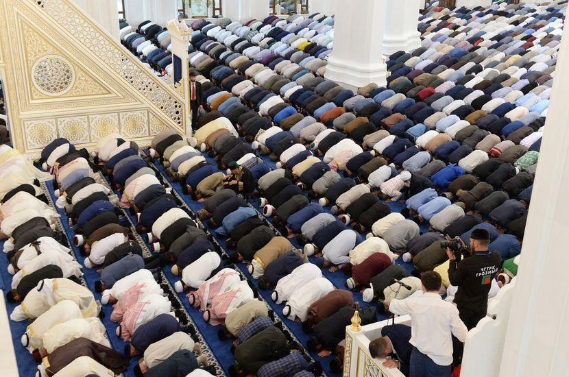Čečenija, nova džamija