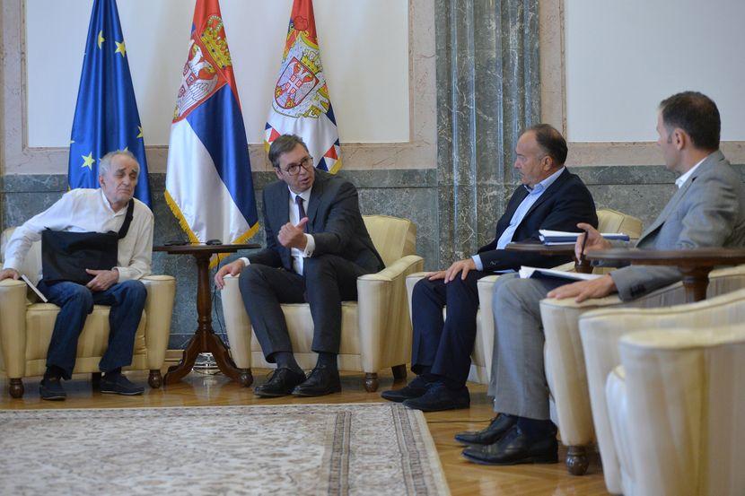 Aleksandar Vučić, predsednik Srbije