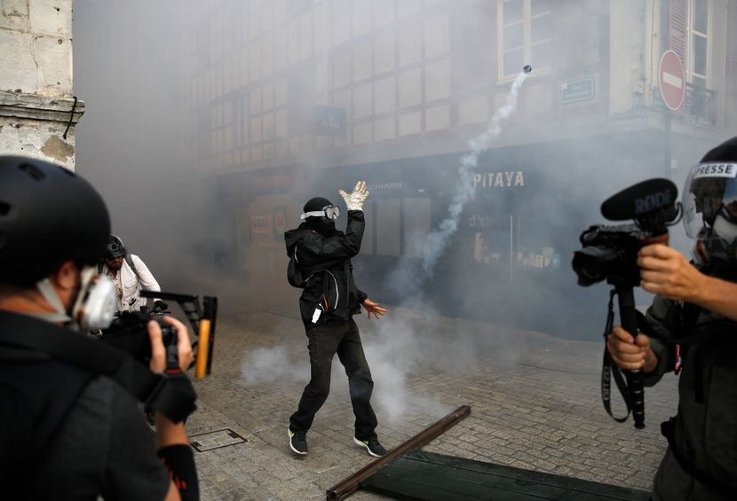 Francuska, protesti, antisamit, France G7 Summit