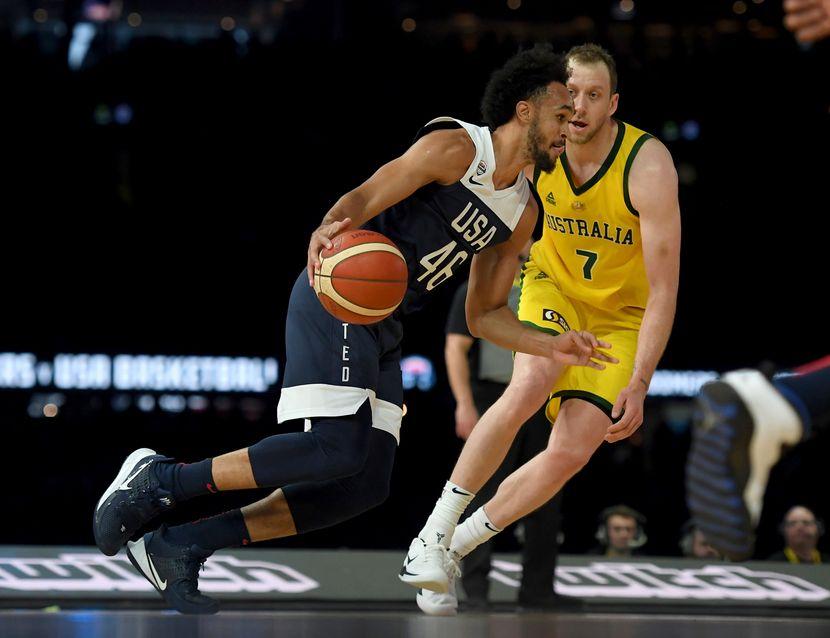 Košarkaška reprezentacija SAD Košarkaška reprezentacija Australije