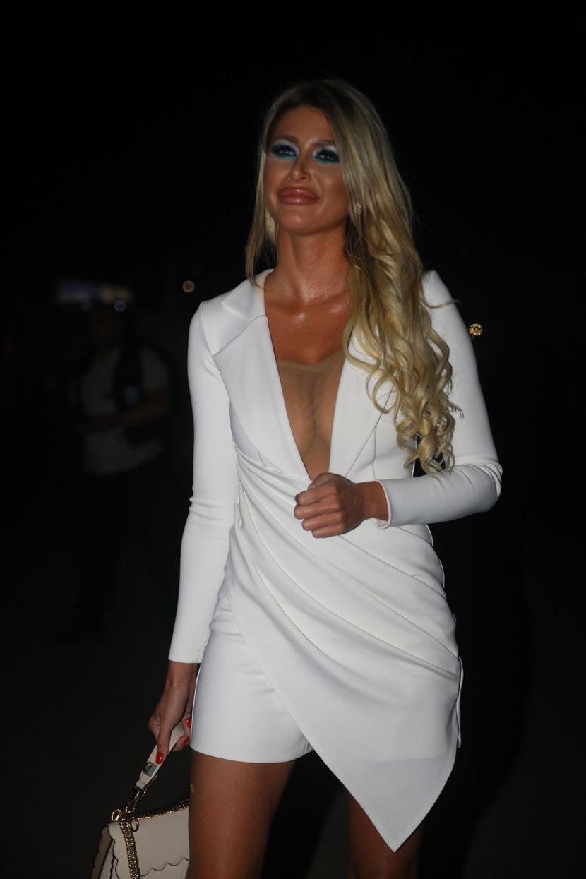 Aca Lukas, devojka Jovana Doroški