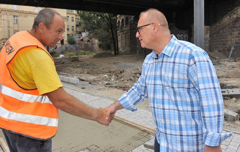 Goran Vesić, radovi, Karađorđeva ulica