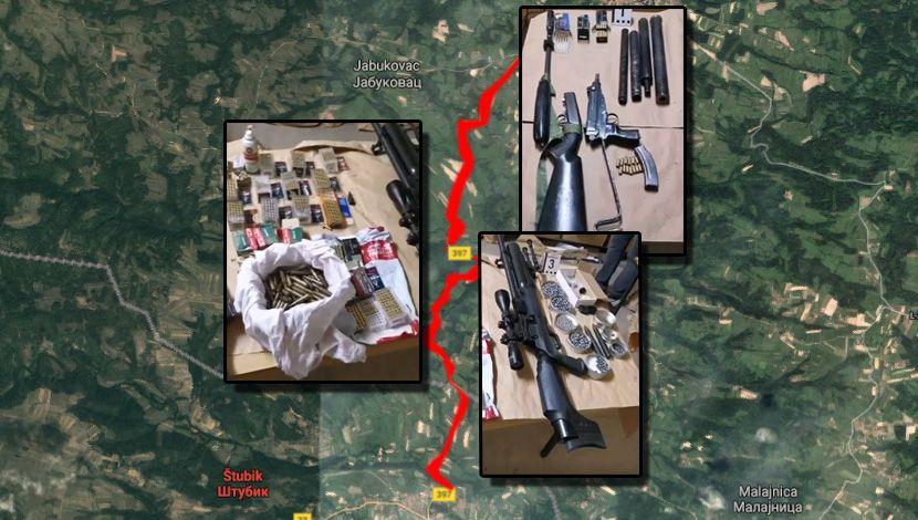 Štubik, oružje, Davor P. Jabukovac, masakr, zločin, ubistva, hapšenje Negotin