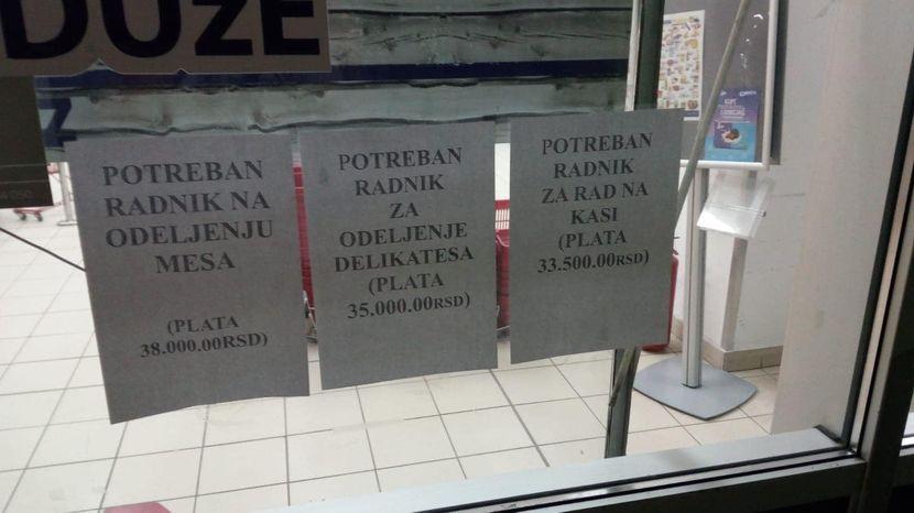 plata u marketima