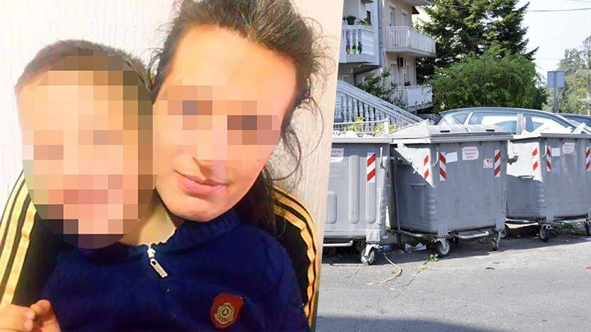 Kontejner, beba ostavljena Žarkovo, Mirjana Gavrilović