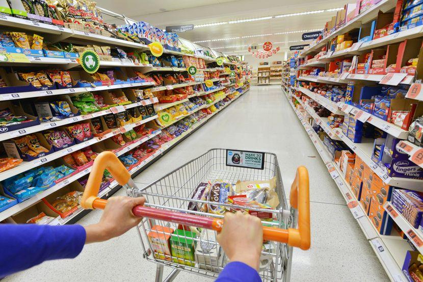 Supermarket, rafovi