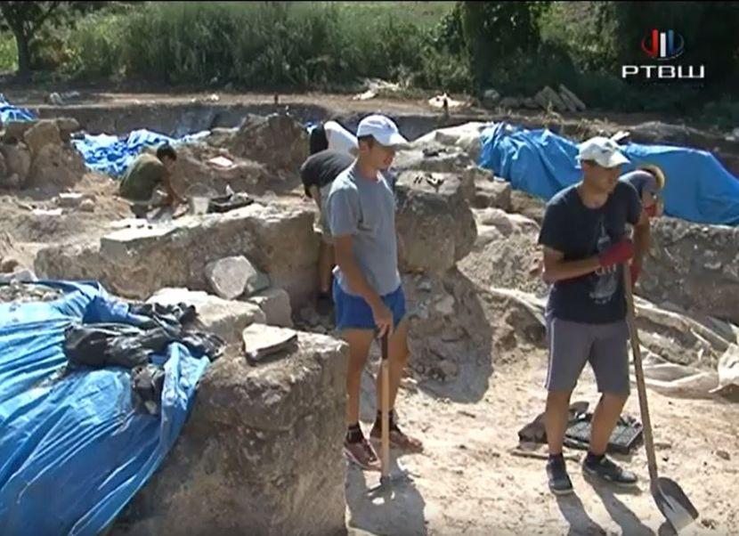 dvorine arheološko nalazište