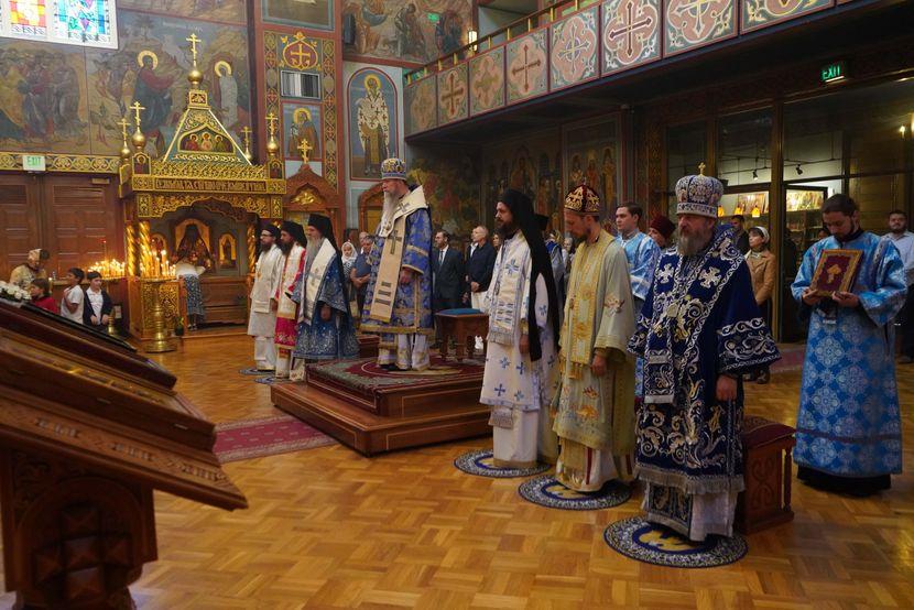 Srpski i ruski episkopi, San Francisko