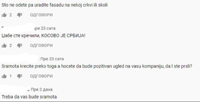 Cif, komentari, Kosovo je Srbija