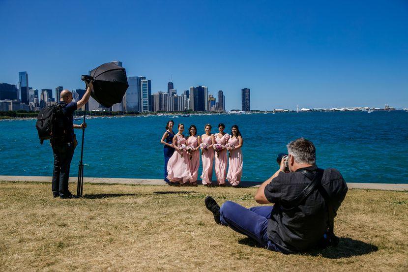 Milan Lazić, fotograf, venčanja, Čikago