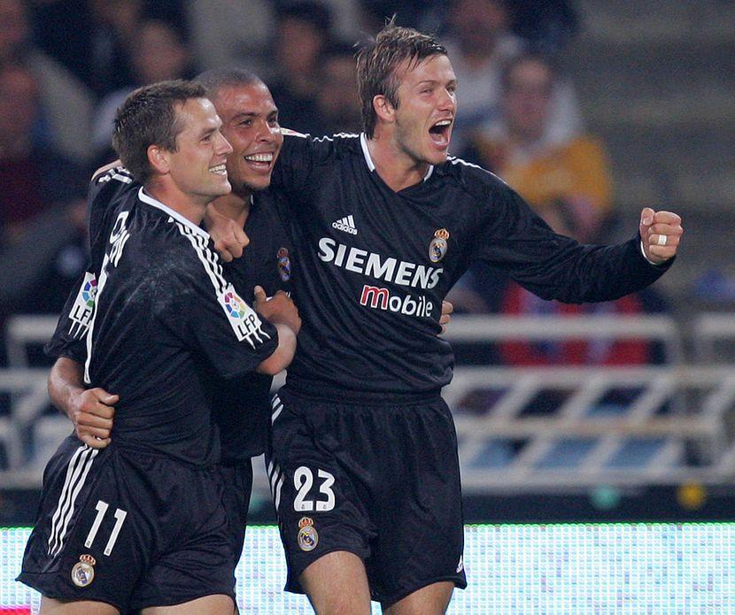 Majkl Oven, Ronaldo, Dejvid Bekam, Real Madrid