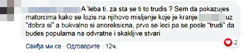 komentari, Selena Gačević