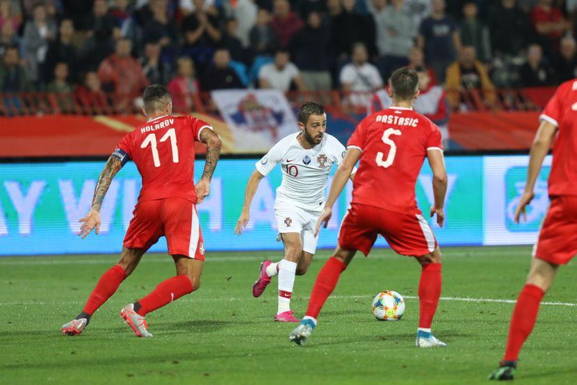 Fudbal Srbija - Portugal