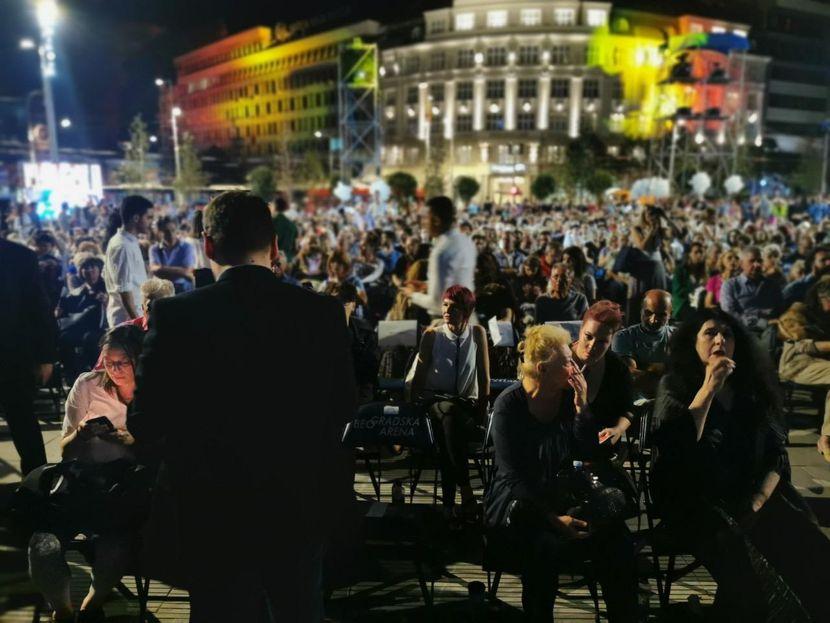Goran Vesic,  trg republike