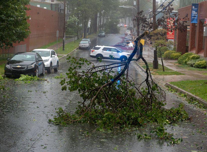 Dorijan uragan Kanada