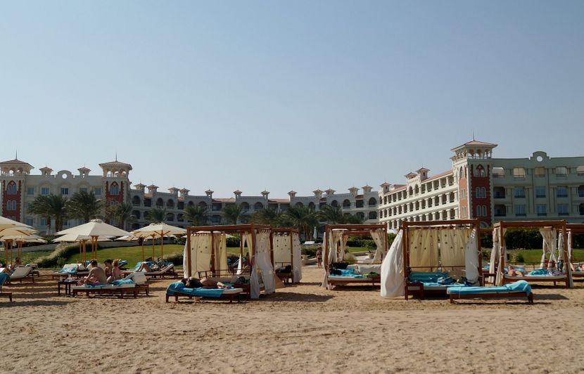 Egipat all inclusive more plaža hotel