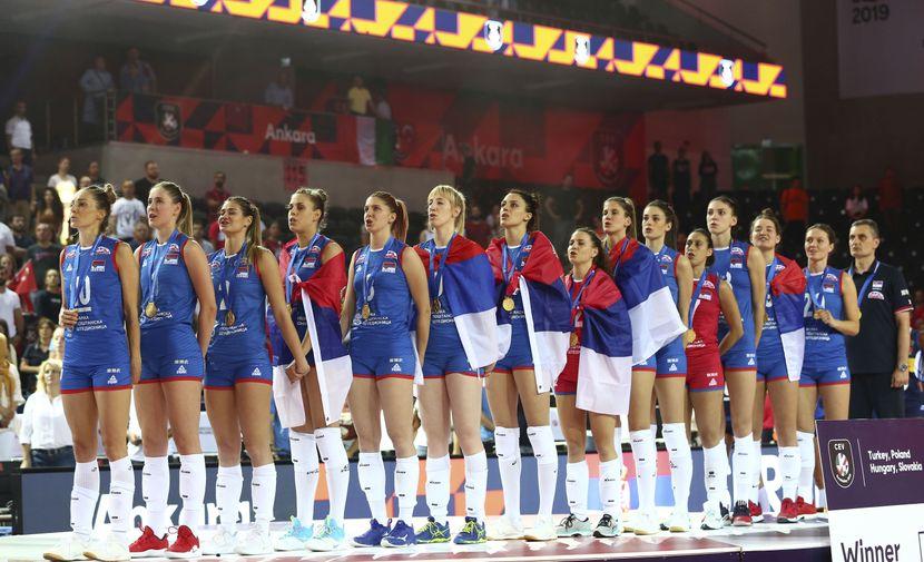 Ženska odbojkaška reprezentacija Srbije, Odbojkašice, Evropske prvakinje, Evropsko prvenstvo, Ankara