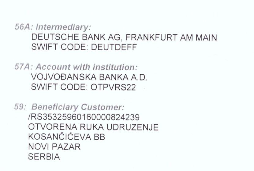 Devizni račun za inostranstvo