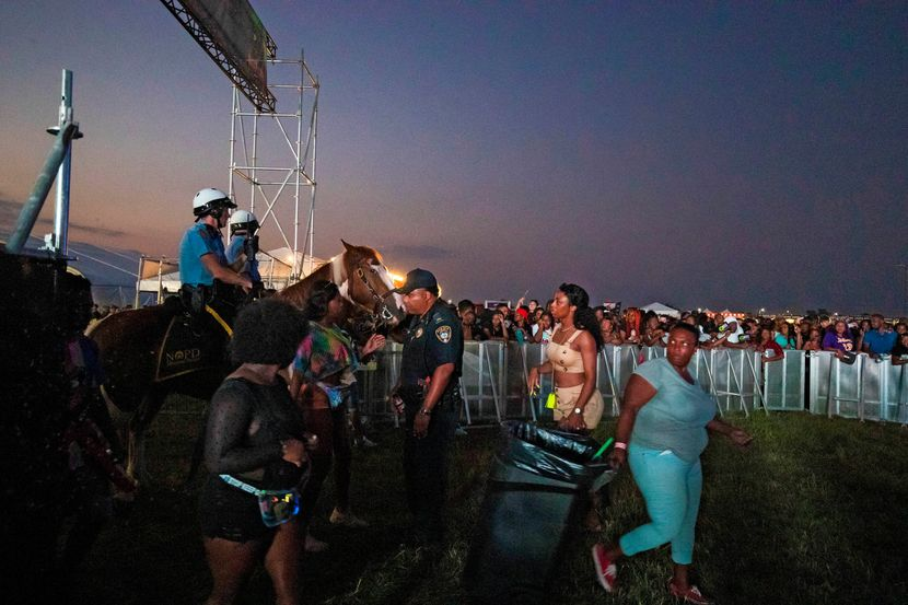 Stampedo na festivalu u Nju Orleansu