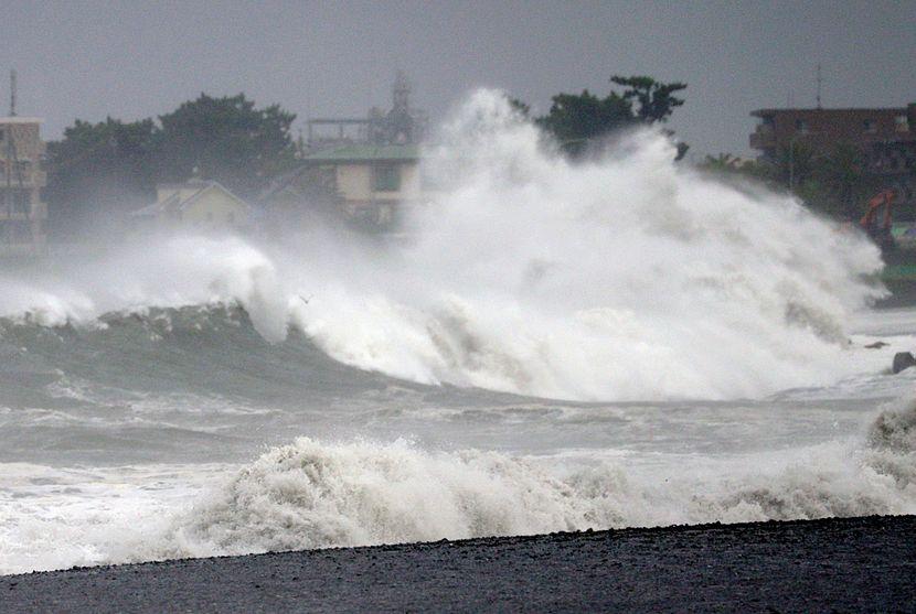 Tajfun Japan