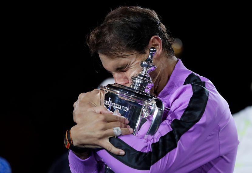 Rafael Nadal, US Open, pehar, suze
