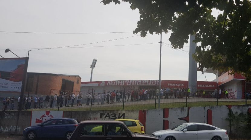 FK Crvena zvezda, Prodaja karata, Delije