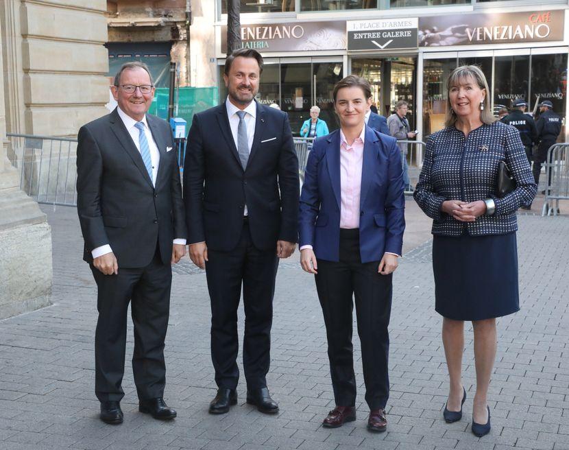 Obelezavanje75 godina od oslobođenja Luksemburga  luxemburga