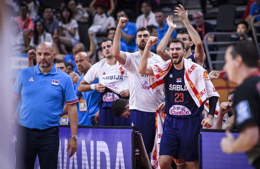 Kosarkaska reprezentacija Srbije Srbija Argentina, kosarka