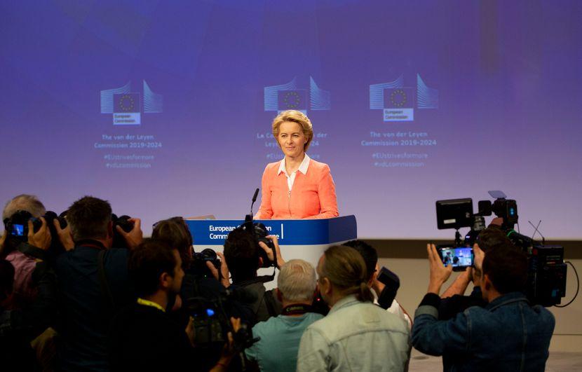 Nova predsednica Evropske komisije Ursula fon der Lajen