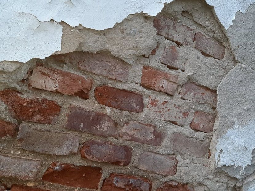 Kuća, zid, rušenje