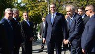 Drugi dan posete predsednika Češke: Slede zvanični razgovori Vučića i Zemana
