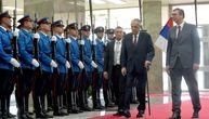 Vučić priredio svečani doček u Palati Srbija: Crveni tepih i garda za predsednika Zemana