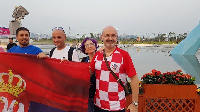 Hrvat bodri Srbiju protiv SAD