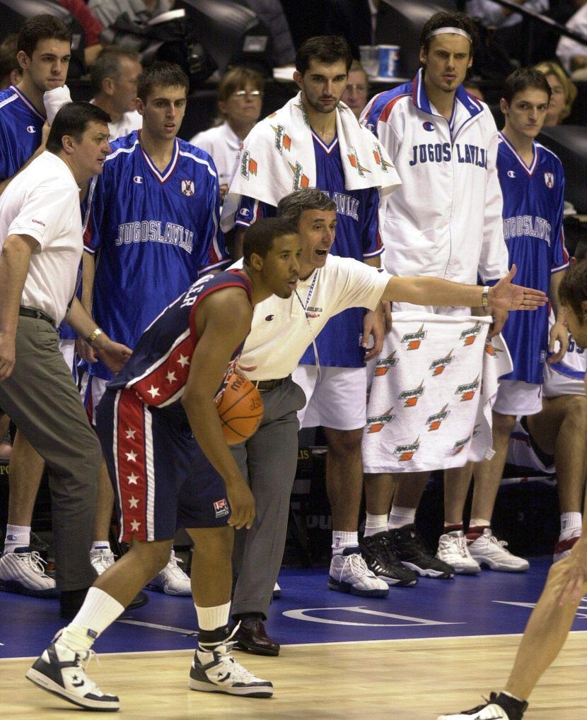 Košarkaška reprezentacija Srbije 2002 Indijanapolis 2002 Dejan Bodiroga