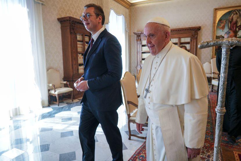 Aleksandar Vucic Vatikan Papa