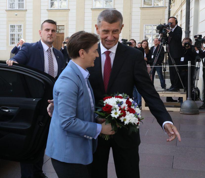 Ana Brnabić, West Balkan summit in Prague