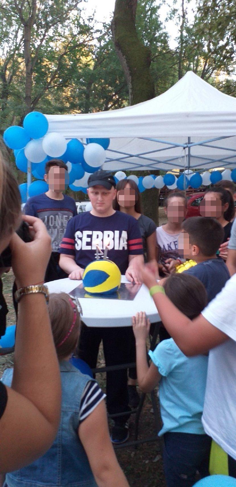 Ognjen Đorđević, iznenađenje, rođendan