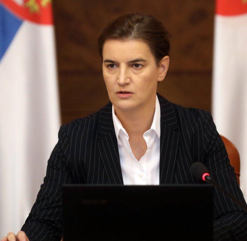 Ana Brnabić, sednica Vlade