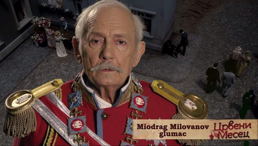 Crveni mesec, Miodrag Milovanov