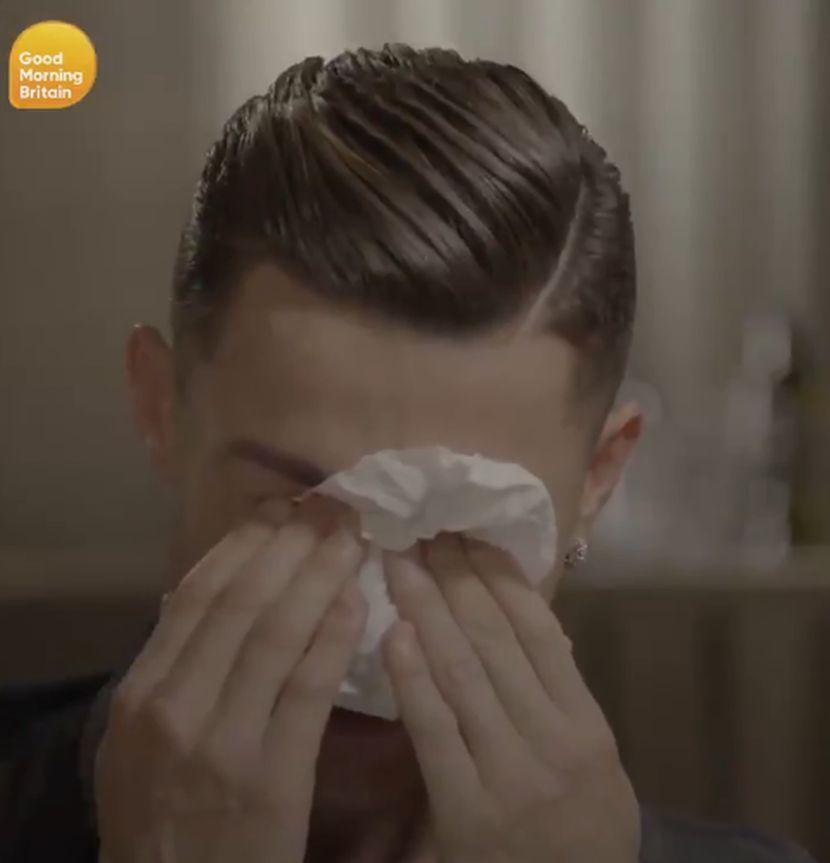 Kristijano Ronaldo plače