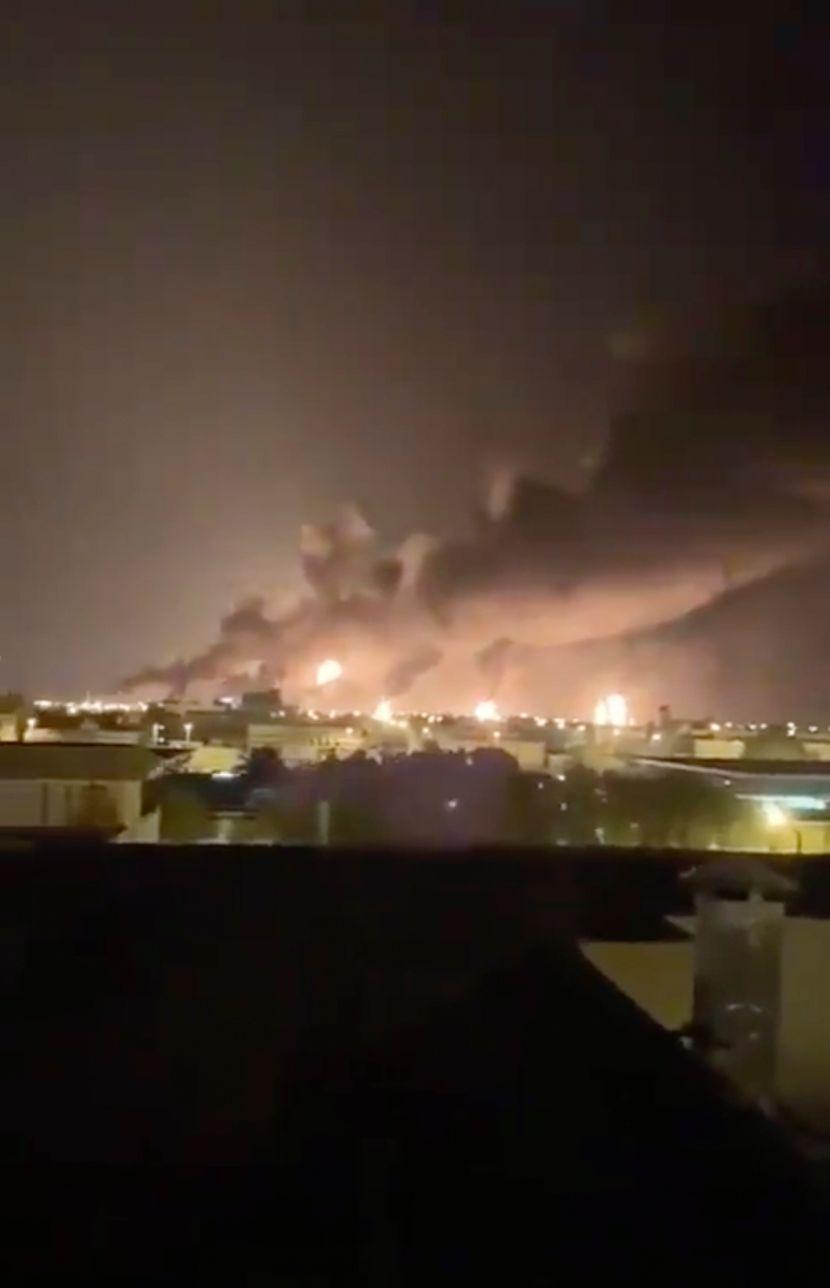 Napadnuto naftno postrojenje u Saudijskoj Arabiji