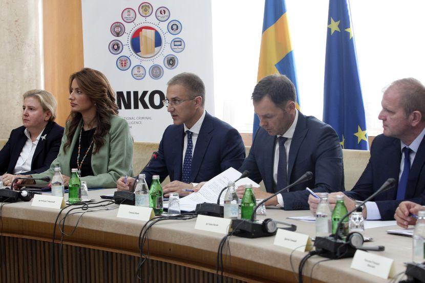 Potpisivanje Sporazuma o saradnji na uspostavljanju i razvoju nacionalnog kriminalisticko-obavestajnog sistema