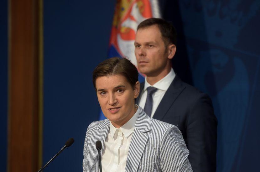Ana Brnabić, Siniša Mali
