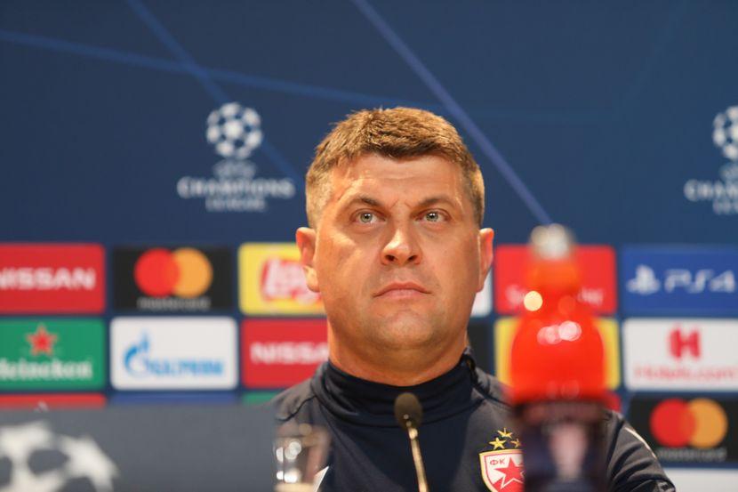 FK Crvena zvezda, konferencija za novinare